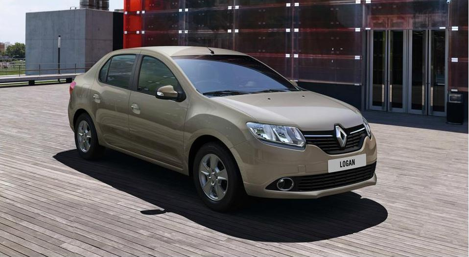 Вид сбоку Renault Login 2013 new