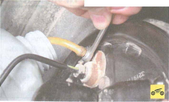 Замена тормозной жидкости Рено Логан