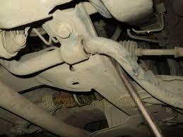 Замена втулок стабилизатора на Renault Logan