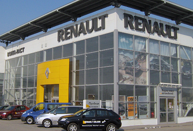 Волга-Раст дилер Renault