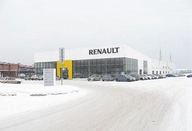 Гранд-моторс дилер Renault