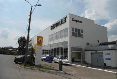 ИНАВТОСЕРВИС дилер Renault