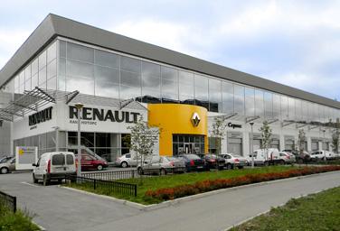 Lucky Motors дилер renault Екатеринбурге
