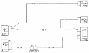 Система запуска двигателя (K7J) Рено Логан