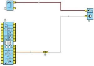 Электросхема зарядки аккумулятора Рено Логан