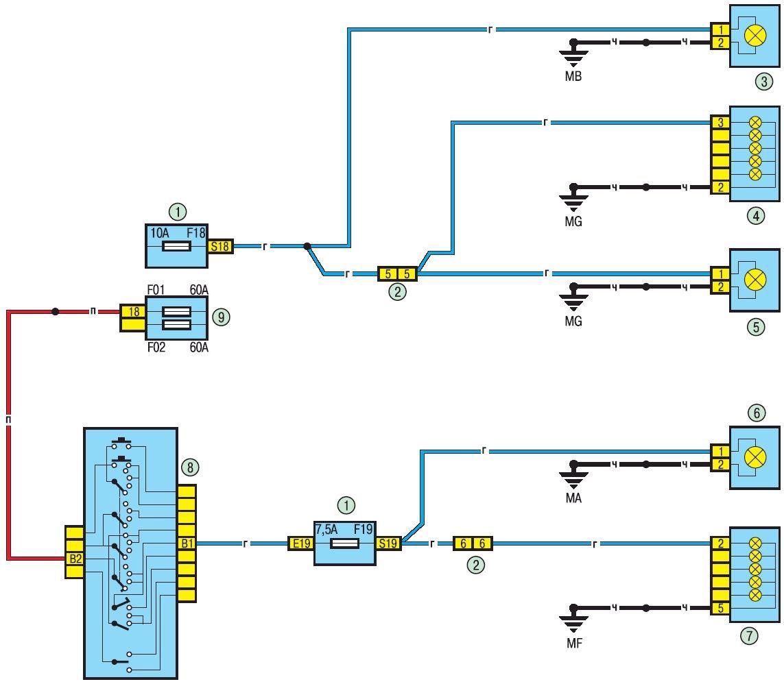 электропроводка renault logan