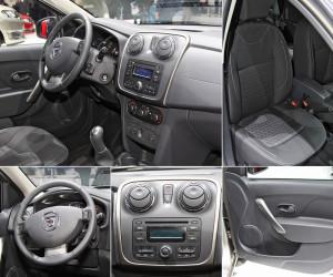 Салон Dacia Logan mcv 2-го поколения